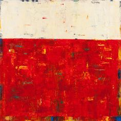 Undercover by Lela Kay. Original oil painting on heavy-duty stretched canvas. High quality paint creates this abstract composition with multiple layers of paint and glazes of color that add dimension to the surface of the painting. A high gloss finish protects the painting; and painted edges mean it does not require a frame. Wired on back, ready to hang.