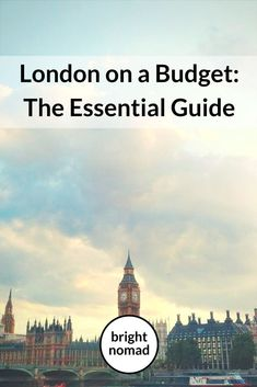 How you can visit London even if you travel on a budget - an essential guide to saving money in London. Money saving tips on transport, accommodation, food, shopping and much more!   #London #travel