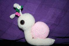 snail amigurumi - CROCHET