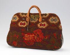 ca. 1860  Bag (Carpetbag)