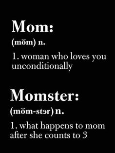 Mom vs momster