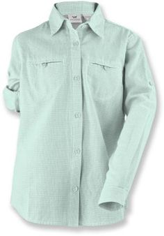 White Sierra Girls Canyon Crest Shirt