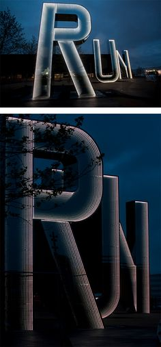 RUN: Olympic Park Installation by Monica Bonvicini | Inspiration Grid | Design Inspiration