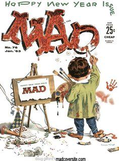 Mad #76 (January 1963)