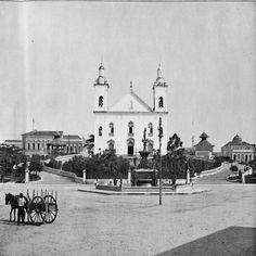 Igreja Nossa Senhora da Conceição. Manaus. Álbum do Amazonas 1901-1902.