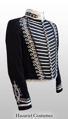 Black death Hussar Jacket handmade