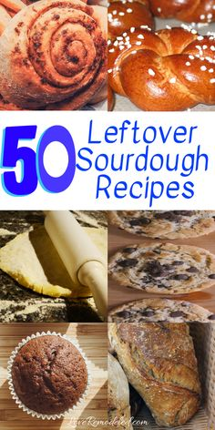 What To Do With Your Leftover Sourdough Starter: Recipes! Check out this list of over 50 excess sourdough starter recipes! There are so many choices! Sourdough Doughnut Recipe, Sourdough Starter Discard Recipe, Dough Starter Recipe, Sourdough Pancakes, Sourdough Recipes, Starter Recipes, Sourdough Cornbread Recipe, Sour Dough Starter, King Food