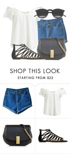 """""""Outfit #1409"""" by lauraandrade98 on Polyvore featuring moda, VILA, Marc Jacobs, Jimmy Choo y Chicnova Fashion"""