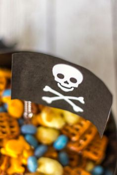 Pirate Munch Party Mix - Around My Family Table
