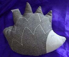 HEDGEHOG CUSHION IN TWEED MATERIAL