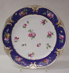 Plate (Assiette à palmes)
