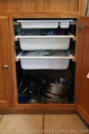 Image result for organization inside vintage trailer