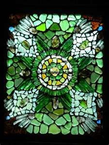 Celtic Sea Glass I want something this beautiful for a window in my kitchen when we retire