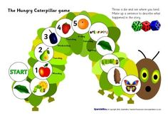The Very Hungry Caterpillar game. Printable. by Jevan