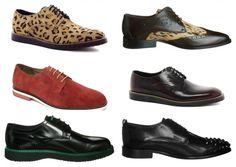 Ideas en zapatos para los más atrevidos