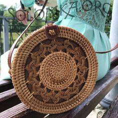 Rattan, Straw Bag, Bali, Wicker