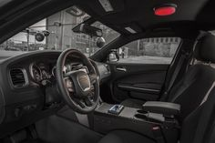 """The 2017 Dodge Charger Pursuit is one of the modern examples of those law enforcement vehicles. The vehicle makes the bold statement of """"nothing can get away from this car on this highway"""". 2015 Dodge Charger, Police Patrol, Police Cars, Sirens, Radios, 4x4, California Highway Patrol, Dodge City, Automotive News"""
