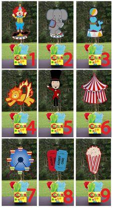 Circus+Party+Centerpieces   Visit etsy.com