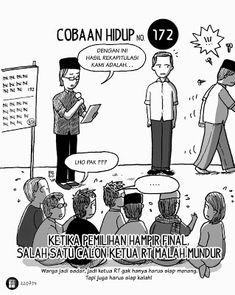 Komik Biebo: Cobaan Hidup by Komik Biebo Cheer Up, Funny Memes, Humor, Feelings, My Style, Note, Humour, Funny Mems, Moon Moon