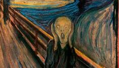 A team of Belgian researchers has closed the case on the origins of a mysterious smudge on Norwegian painter Edvard Munch's most famous painting, the Scream. Long believed to be bird poo, they found that it is bees wax. Le Cri Edvard Munch, O Grito Edvard Munch, Most Expensive Painting, Expensive Art, Le Reiki, What Is Fear, Guernica, Johannes Vermeer, Arts Ed