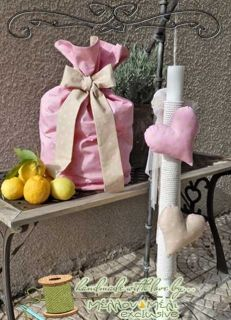 """Σετ βάπτισης """"Pink sack"""""""