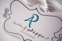 Silhouette Projects / cut out business card inspiration using a Silhouette Cameo cutting machine by Subjects Chosen at Random