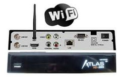 CRISTOR ATLAS HD 200S (2 SAT) + wifi integrado + cable hdmi