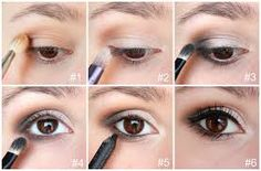 """Résultat de recherche d'images pour """"tuto maquillage yeux marrons facile et simple"""""""
