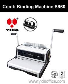 F4 Size Base Heavy Duty Comb Binding Machine (S960)