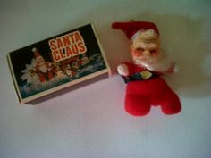vintage Santa Claus beanie in matchbox (04/06/2012)