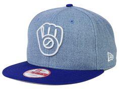 sports shoes 1adef 24e51 Milwaukee Brewers New Era MLB Fresh Tone 9FIFTY Snapback Cap Brewer Logo, Milwaukee  Brewers,