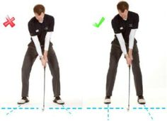 Golf Swing Perfect Complete Guide to The Perfect Golf Set Up – Part 2 Part 2 of 7 Previous Next Now that you've checked your alignment and have yourself pointing in the right direction, the next step is t… Golf Card Game, Dubai Golf, Golf Stance, Golf Putting Tips, Golfer, Golf Videos, Golf Instruction, Golf Tips For Beginners, Golf Channel