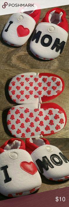 I ❤ Mom Crib Shoes NWOT Shoes Baby & Walker