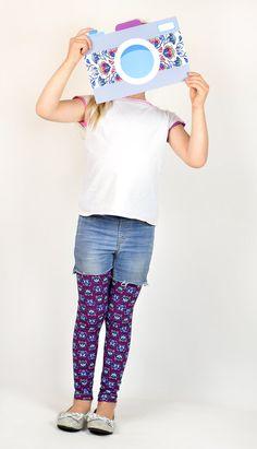 Schnittmuster / Ebook lillesol basics No.50 Leggings / Nähen Hose / pdf sewing pattern Leggings