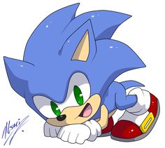Chibi Sonic Awwwwwwwwwwwwwwwwwwwwwwwwwwwwwwwwwwwwww!!! This is so cute!!!!!! <3 <3