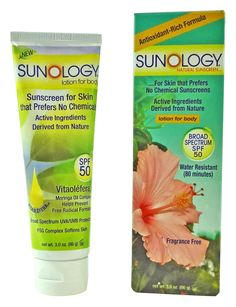 Food Babe's sunscreen pick - Sunology - Natural sunscreen - Lotion for Body