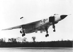 The Avro Arrow fighter jet, 1959