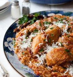 Κοτόπουλο με κριθαράκι στη γάστρα   Συνταγές - Sintayes.gr Chicken, Meat, Dinner, Recipes, Food, Cooking, Rezepte, Suppers, Essen