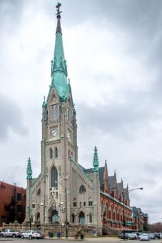 St. Alphonsus church at Southport and Wellington.