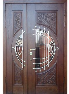 New unique door knobs ideas art nouveau Ideas Wooden Door Design, Main Door Design, Front Door Design, Wooden Doors, Exterior Front Doors, Entrance Doors, Front Entry, Cool Doors, Unique Doors