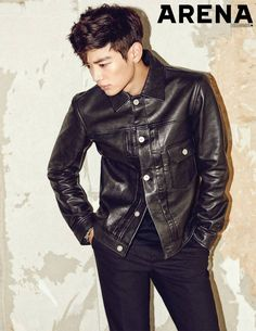 SHINee's Minho is strikingly suave in Arena pictorial