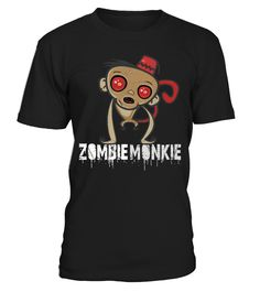 ZOMBIE MONKIE - Edition Limitée!   => Check out this shirt by clicking the image, have fun :) Please tag, repin & share with your friends who would love it. halloween costume ideas #halloween #hoodie #ideas #image #photo #shirt #tshirt #sweatshirt #tee #gift #perfectgift #birthday