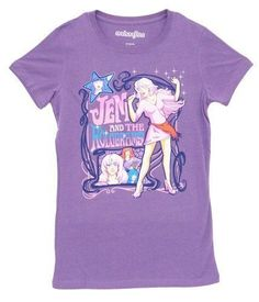 Jem and the Holograms Jem Nouveau Singing Solo Retro T-Shirt