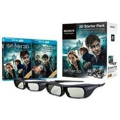 Sony 3DBNDL/HPOTER The Harry Potter 3D Starter Kit: http://www.amazon.com/Sony-3DBNDL-HPOTER-Potter-Starter/dp/B0067W2ISW/?tag=eyepet-20
