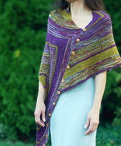 RickRoll Wrap pattern on Ravelry by Mary Annarella (Lyrical Knits)