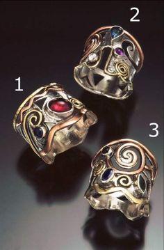 dark fantasy gem ring - Google Search