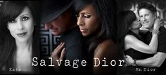 Salvage Dior, as seen in Artful Blogging by  Stampington.