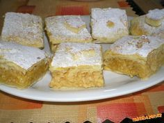Křehké - lehounké jablečné řezy Cornbread, French Toast, Gluten Free, Sweets, Breakfast, Cake, Ethnic Recipes, Food, Glutenfree