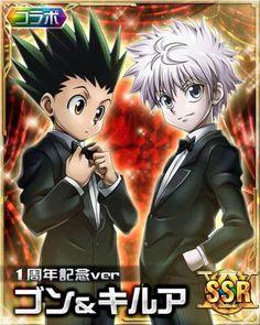 Imagem de hunter x hunter, killugon, and killua x gon Hisoka, Zoldyck, Gon Killua, Gon Hunter, Hunter Anime, Anime Love, Anime Guys, Manga Anime, Manga Covers