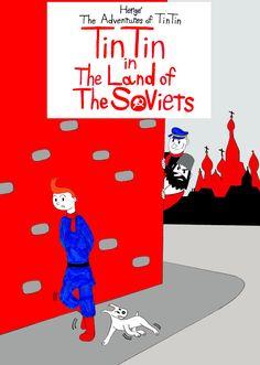 Les Aventures de Tintin - Album Imaginaire - Tintin in the Land of the Soviets
